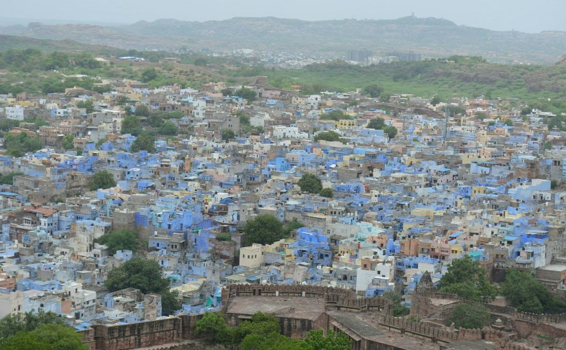 """Jodhpur, die """"blaueStadt"""""""
